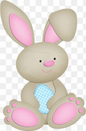 Happy Easter Day - European Rabbit Easter Bunny Baby Shower PNG
