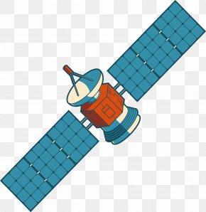 Satellites In Space - Satellite Nilesat Clip Art PNG