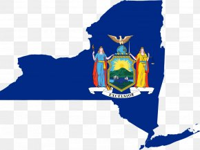 Flag - New York City Coat Of Arms Of New York State Flag Vexillology PNG