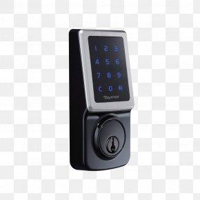 Electronic Lock - Electronic Lock Door Dead Bolt Combination Lock PNG