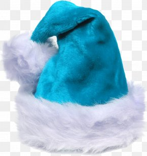Ice - Santa Claus Christmas Hat Cap PNG
