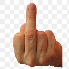 Middle Finger Flip The Bird The Finger Sticker Ring Finger PNG
