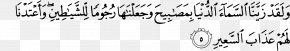 Islam - Qur'an Al-Mulk Tafsir Ibn Kathir Surah Quran Translations PNG
