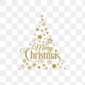 Golden Creative Christmas Tree - Christmas Tree Christmas Ornament Santa Claus PNG