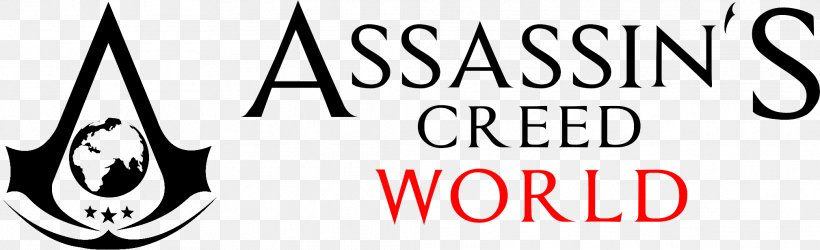 Assassin's Creed: Brotherhood Font Logo Cloth Napkins Clip Art, PNG, 2019x618px, Logo, Animal, Area, Area M Airsoft Koblenz, Black And White Download Free