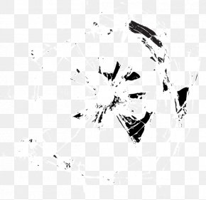Vector Broken Glass - White Graphic Design Pattern PNG