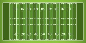 Field Background Cliparts - American Football Field New York Giants Clip Art PNG
