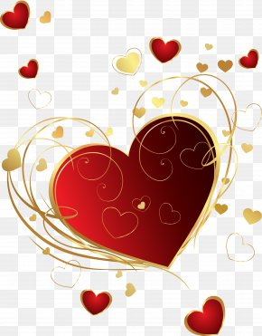 Heart - Desktop Wallpaper Heart Drawing Valentine's Day Clip Art PNG