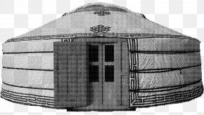 House - Mongolia Yurt House Maison En Bois Mongols PNG