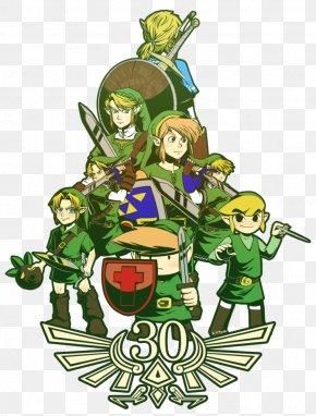 The Legend Of Zelda - T-shirt The Legend Of Zelda: Phantom Hourglass Art Link PNG