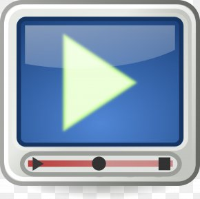 Movie Player Cliparts - Video Free Content Clip Art PNG