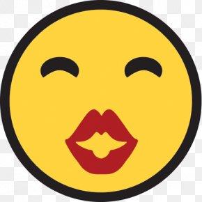 Emoji - Emoji Smile Emoticon Text Messaging Kiss PNG
