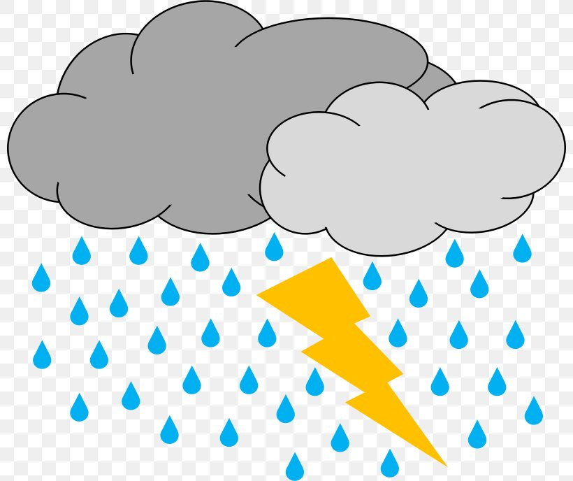 Thunderstorm Lightning Clip Art, PNG, 800x688px, Thunderstorm, Animation, Area, Blue, Cloud Download Free