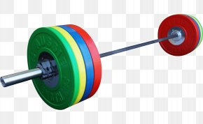 Sports Barbell - Barbell Weight Training Olympic Weightlifting Clip Art PNG