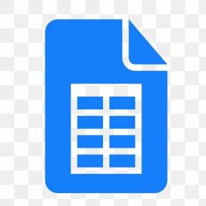 Google - Google Docs G Suite Spreadsheet Google Sheets PNG