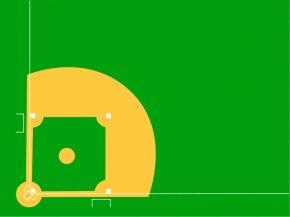 Cartoon Diamond - Baseball Field Baseball Park Clip Art PNG