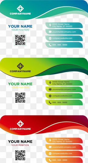 Color Business Card Template - Business Card Idea Logo PNG
