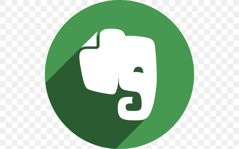 Evernote, PNG, 512x512px, Evernote, Brand, Computer Software, Grass, Green Download Free