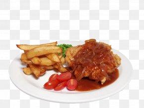 Breakfast - French Fries Schnitzel Vegetarian Cuisine Meat Chop Full Breakfast PNG