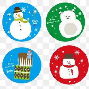 Vector Winter Snowman - Snowman Winter Euclidean Vector Clip Art PNG