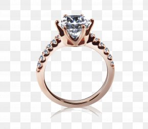 24k Gold Ring - Wedding Ring Diamond Cartier Jewellery PNG