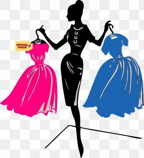 Violet - Fashion Clothing Woman Dress Model PNG
