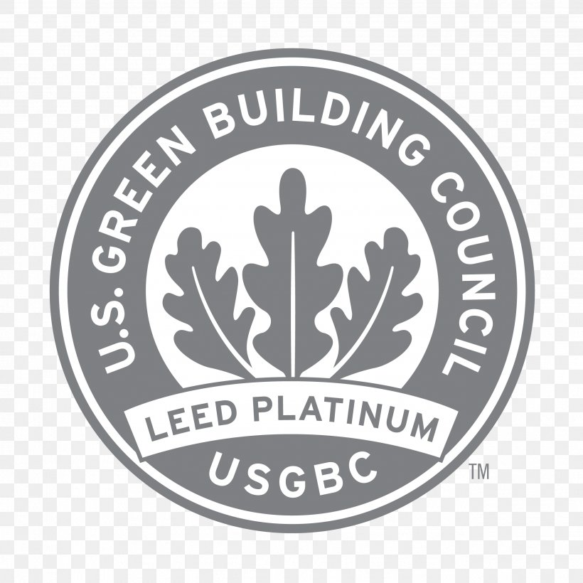 Leadership In Energy And Environmental Design U S Green Building Council Certification Logo Png 2546x2547px Us Green