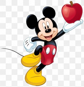 Mickey Mouse - Mickey Mouse Minnie Mouse Goofy The Walt Disney Company Clip Art PNG
