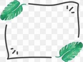 Leaf Frame - Leaf Euclidean Vector Plant Paper PNG