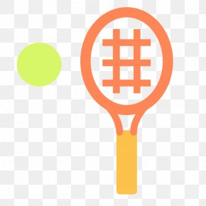 Vector,Flat,movement,Fitness,Leisure,Sports Equipment,entertainment - Sport Tennis Racket Ball Game Icon PNG