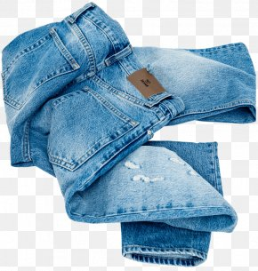 Nelly Ripped - Jeans Denim Textile Pocket Product PNG