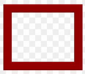 Square Frame Clipart - Square Text Area Picture Frame Pattern PNG