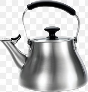 Kettle Image - Teapot Kettle Stainless Steel Kitchen PNG