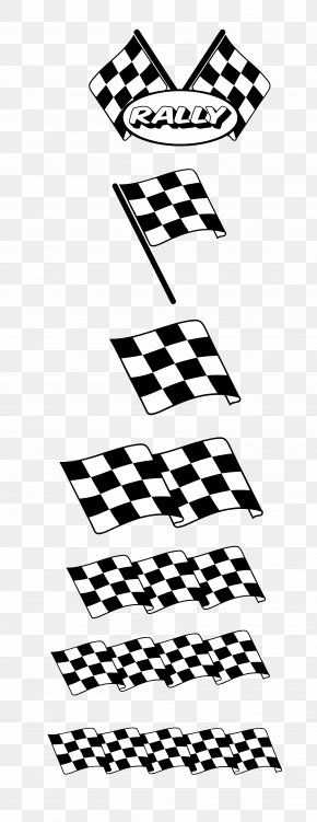 Vector Black And White Racing Flags - Euclidean Vector Adobe Illustrator PNG