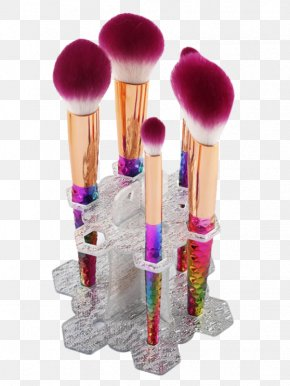 Violet Gradient - Makeup Brush Paintbrush Foundation Stock Exchange Of Thailand PNG