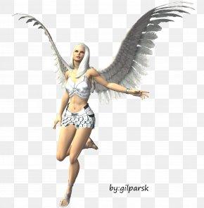 Gold Fairy - Duende Fairy Elf Legendary Creature PNG