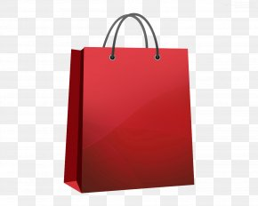 Shopping Bag Hd - Shopping Bag Red Tote Bag PNG