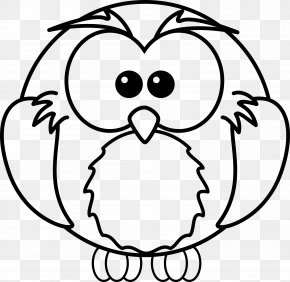 Snowy Animals Cliparts - Baby Owls Coloring Book Coloring Pages For Kids Adult PNG