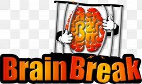 Brain Break - BrainBreak Logo Escape Room Game Brand PNG