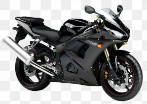 Black Yamaha YZF R6 Sport Motorcycle Bike - Sport Bike Motorcycle Yamaha Motor Company Car Wallpaper PNG