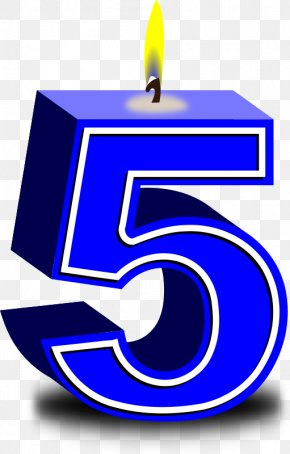 Number 1 - Birthday Cake Candle Clip Art PNG