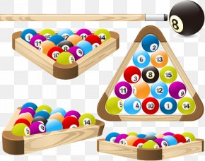 Snooker Vector Material Download - Pool Billiards Billiard Ball Rack Clip Art PNG