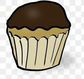 Muffin Cliparts - Ice Cream Cones Muffin Chocolate Chip Cookie Cupcake PNG
