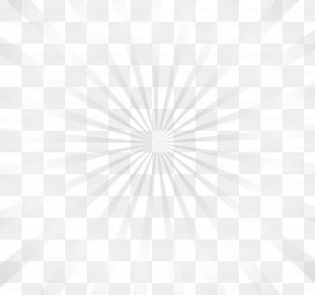 White Fresh Beam - Symmetry Line Point Black And White Pattern PNG