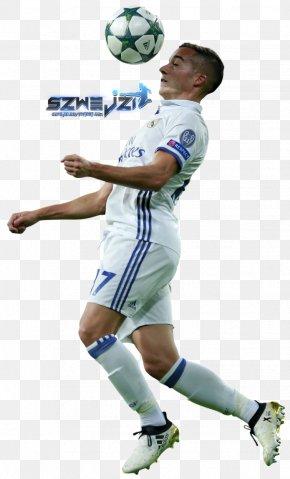 Real Madrid C.F. - Lucas Vázquez Real Madrid C.F. Football Player Desktop Wallpaper PNG