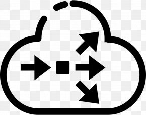 Cloud Computing - Load Balancing Cloud Computing Clip Art PNG