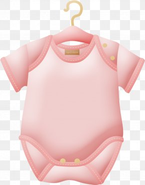 Pink Shirt Download - Infant Baby Shower Clip Art Baby & Toddler One-Pieces PNG