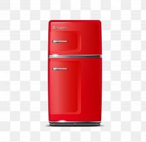 Refrigerator - Refrigerator Home Appliance Euclidean Vector PNG
