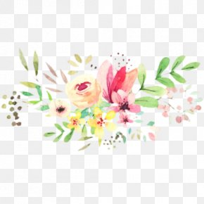 Wildflower Bouquet - Bouquet Of Flowers Drawing PNG