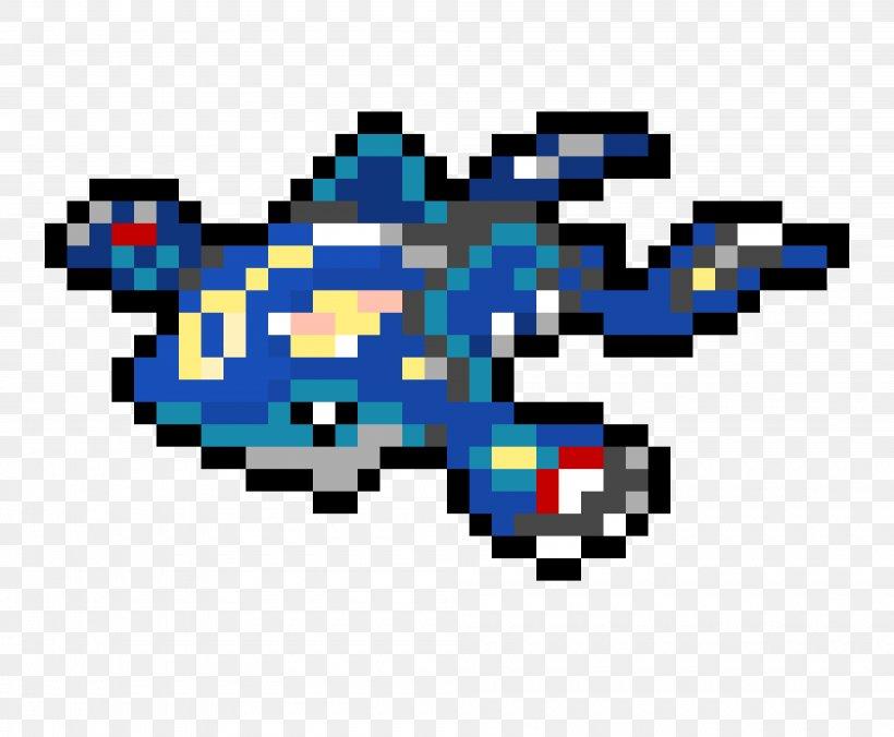 Groudon Minecraft Kyogre Pixel Art Png 4000x3300px
